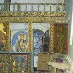 Икони от църквата във Ветринци, пренесени в музея във Велико Търново.