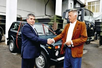 Лесничейството в Горна Оряховица взе голямата награда  - Лада Нива