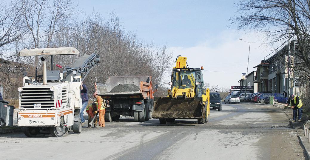 Към 40 хил. лв. ще струва асфалтирането на най-дълбоките улични дупки във В. Търново.