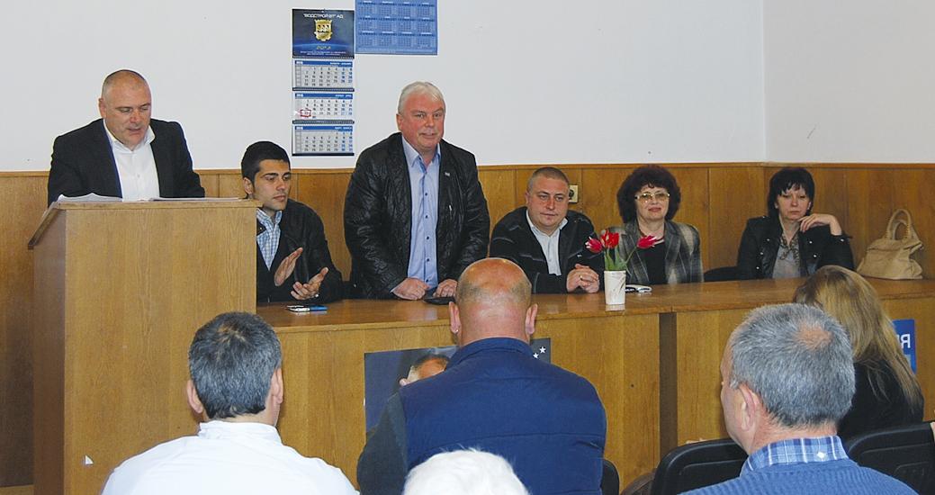 Жителите на Петко Каравелово казаха проблемите си на кандидатите за депутати от ГЕРБ.
