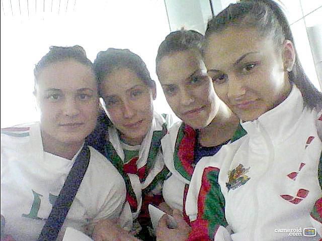 Петя Кръстева, Деница Иванова, Станислава Димитрова и Лидия Ковачева (отдясно наляво). сн. личен архив