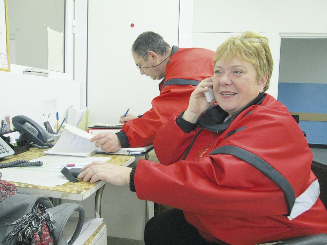 Ръководителят на филиала за спешна медицинска помощ в Павликени Миглена Миронова.