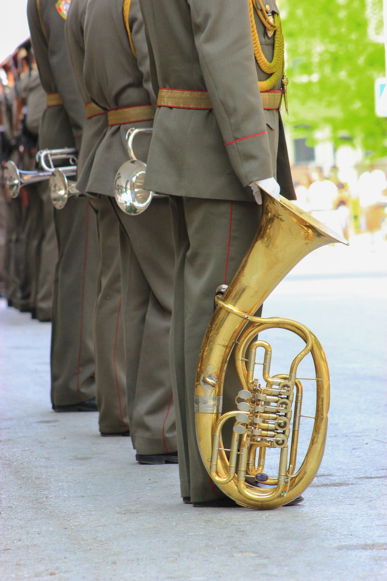 military-brass-band