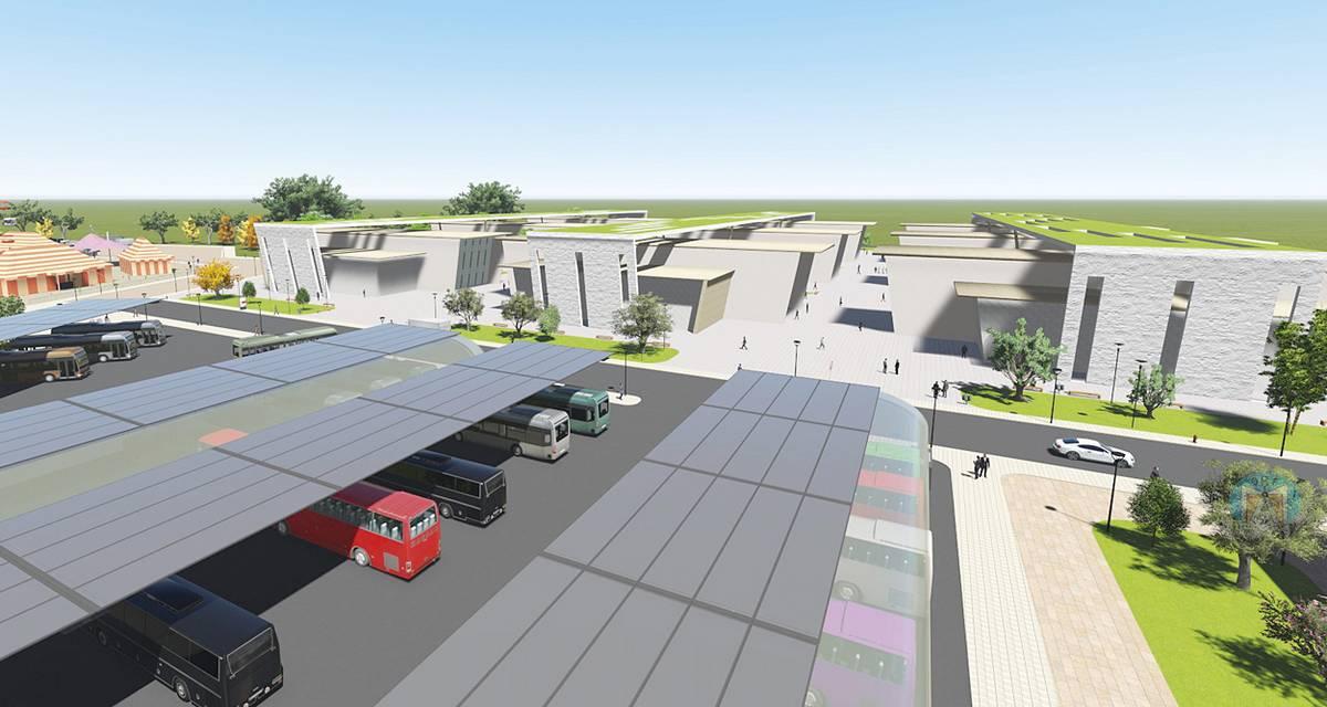 """Вече е готова визуализацията как ще изглеждат близо 50-те декара на Сержантското училище. Според проекта освен зоните за бизнес и паркиране е предвидена и увеселителна зона с атракциони. """"Янтра ДНЕС"""" първи показва как ще изглежда част от района."""