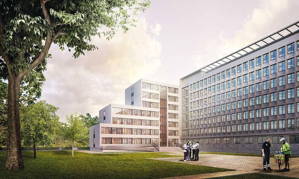 Така ще изглежда новият корпус в Новата болница.