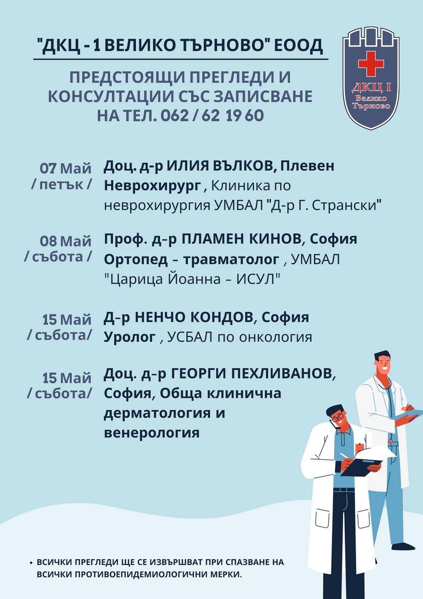Посещения ДКЦ Май 2021